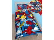 Spiderman Webhead 2 Piece UK Single/US Twin Sheet Set – 1 x Double Sided Sheet & 1 x Pillowcase  - Rotary Design 9SIAE5P60R0242