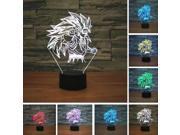 New Dragon Ball Super Saiyan Monkey Son Goku 3D Mood Table Lamp Night Light Gift 9SIAE6Y6JY3294