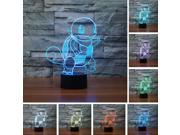 New Pokemon Go Action Figure 3D Led light Jenny Tortoise Visual Lamp Home Decor 9SIAEF86KE7212