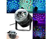 5 Pack LED RGB Crystal Ball Stage Lighting Effect Light Rotating Party DJ Light 9SIAE7877Z6798