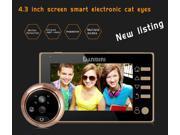 "4.3"""" Door Peephole Viewer Cameras Electronic Visual Doorbell Video Night Vision"" 9SIAE786KT8772"