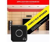 Hot Sale ABS Bluetooth-enabled Receiver V4.1 Adapter NFC Audio Dual Aux 3.5mm US