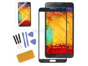 Front Glass Screen Replacement Repair Kit Black for Samsung Galaxy Note 3 9SIAE786P02662