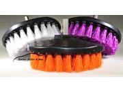 3pc Carpet Mat 5 Round Brush w/Power Drill Attachment Car Care & Detailing Tool