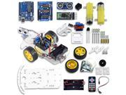 UCTRONICS Smart Bluetooth Robot Car Kit for Avoiding Obstacle with UNO R3 Board, HC-05 Bluetooth Wireless Module, Infrared IR Wireless Remote Controller, HC-SR0 9SIAE7U5YU5474