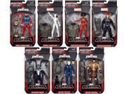 """Marvel Spider-Man Marvel Legends Spider-Man Series 2 Marvel Legends Rhino Wave 6"""""""" Set of 7 Action Figures"""" 9SIAE7U6206628"""