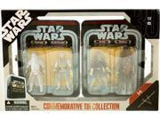 Star Wars Episode V 5 Collectible Tin Action Figure Set THE EMPIRE STRIKES BACK with 4 Action Figures: Snowtrooper, Luke Hoth, Han Hoth & Chewbacca Hoth 9SIAE7U6208778