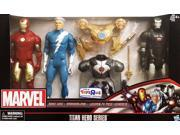 "Marvel Titan Hero Series 12"""" Action Figure 3-Pack [Iron Man, Quicksilver & War Machine]"" 9SIAE7U6206759"