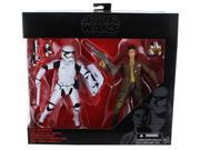 Star Wars Black Series 6 Poe Dameron and First Order Riot Control Stormtrooper 2 Pack Figure 9SIAE7U6207660