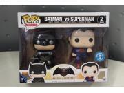 Funko DC Heroes Batman VS. Superman Metallic 2-Pack Pop Vinyl Set 9SIAE7U6209378