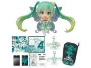 Good Smile Hatsune GT Project: Racing Miku Nendoroid Sponsorship (2017 Deluxe Version) Action Figure 9SIAE7U6206097