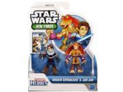 Playskool Heroes, Star Wars, Jedi Force Figures, Anakin Skywalker and Jar Jar Binks 9SIAE7U6207505