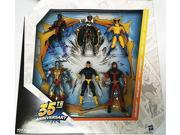 35th Anniversary 6 Pack Giant Size Marvel Universe Exclusive Action Figure Set X-Men Wolverine Nightcrawler Storm Cyclops Colossus Thunderbird Exclusive 9SIAE7U6209125