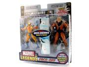 Marvel Legends Face Off Series 2 Action Figure Twin Pack Wolverine vs. Sabretooth 9SIAE7U6206934