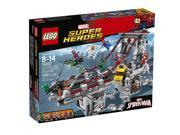 LEGO Super Heroes 76057 Spider-Man: Web Warriors Ultimate Bridge Building Kit (1092 Piece) 9SIAE7U6123614