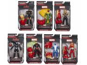 Avengers Marvel Legends Iron Man, Blizzard, War Machine and More Action Figures Wave 3 Set of 7 9SIAE7U6209074
