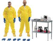 ThreeZero Breaking Bad: Heisenberg & Jesse Hazmat Suit Combo 1:6 Scale Action Figure 9SIAE7U6209662
