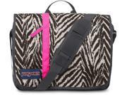 JanSport Market Street Laptop Messenger Bag - Grey Tar Wild At Heart / 13