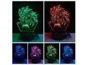 New Dragon Ball Super Saiyan Monkey Son Goku 3D Mood Table Lamp Night Light Gift 9SIV1C87926527