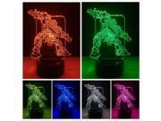 Colourful Transformer Autobots Bumblebee 3D Robot 7 Color Night Light Xmas Gifts 9SIAE8G7925979