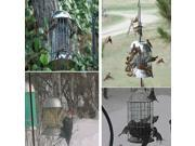 Skinny Squirrel Grackle and Squirrel Proof Stainless Steel Bird Feeder (9SIAD247WM8482 SS-Grackle) photo