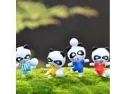 24PCS Panda Bear Doll Miniature DIY Micro Landscape Plant House Decor Accessories Toy 9SIAE8U6PX1674