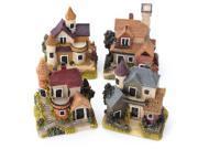 Dollhouse Miniature Kit Garden Dollhouse Micro Landscape DIY Mini Castle Model Toy Home Decoration Gift 9SIAE8U6PX1660