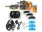 Wireless Pet 3 Dog Fence No-Wire Training Containment System Collar Rechargeable 9SIAE8U6PX3629