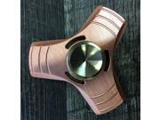 EDC High Quality Copper Flat Edge Fidget Spinner With High Quality Bearing For Long Spin Time Focus Anxiety Stress Relief Desk Toy