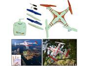 Dazzling Toys Four Channel Remote Control Flying Quadcopter Drone with Camera