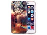 For iPhone 6 Plus & 6s Plus IMD Dreamy Dreamcatcher Pattern Blu-ray Soft TPU Protective Case 9SIAEG27BF3065