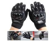 One Pair PRO-BIKER MCS-01C Breathable Wearable Full Finger Protective Motorcycle Gloves Outdoor Sports Keep Warm Gloves, Size: M(20-22cm)(Black) 9SIAEG28369049