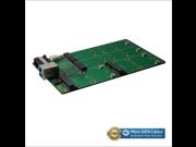 ?USB 3.1 B Type to M.2 SSD X2 and mSATA SSD X2 Adapter RAID Card
