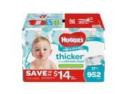 Huggies One & Done Baby Wipes, Scented (952 Ct.)   (Comfortable baby diaper)