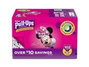 Huggies Pull-Ups Training Pants For Girls  - Diaper Size 4T/5T ( Weight 102 Ct.) (Comfortable baby diaper)