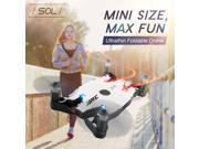 Quartly JJRC H49 WiFi UAV Selfie Drone 720P HD Camera Auto Foldable Arm RC Quadcopter