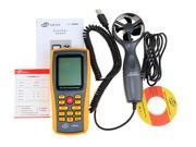 Digital LCD Anemometer Tachometer With USB Wind Speed Measurement GM8902 Air Flow Tester Air Temperature Meter 9SIAEKM6V12331