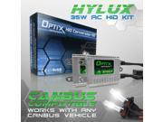 Optix Hylux AC Canbus 35W HID Xenon Headlight Conversion Kit Error Free No Flickering - 9006 - 6K 6000K Brilliant White