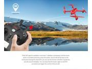 MJX Bugs 2 B2W WIFI FPV Brushless With HD 1080P Camera GPS RC Quadcopter RTF - Red