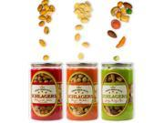 Schlagers Trio Variety Set of Bacon Cheddar Peanuts, Chili Lime Peanuts & Party Mix 18.8oz (Pack of 3) 9SIAEPH6A50487