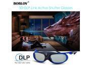 2x JX-30 3D Active Shutter Glasses DLP-Link USB Blue For Optoma BenQ Acer Sharp 9SIAEU973Z3216