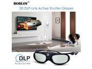 2x JX-30 3D Active Shutter Glasses DLP-Link USB Black For Optoma BenQ Acer Sharp 9SIAEU973Z4492