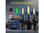 H7 LED COB Headlight Bulb 110W 12000LM 6000K Super Bright High Power Black 9SIAEU96TX7635