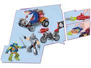 Mega Bloks Teenage Mutant Ninja Turtles Leo Shredder Showdown Construction Set 9SIAEUT6CV8954