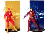 DC Comics Multiverse Justice League THE FLASH From Page To Screen 2-Pack Figure 9SIAEUT6M85359