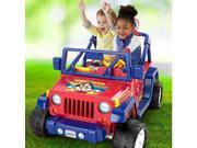 Power Wheels Wonder Woman Jeep Wrangler Vehicle