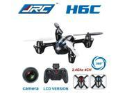 JJRC H6C 4CH 2.4G 2MP Camera LCD RC Quadcopter Drone Helicopter RTF 200W 3D 6-axle Gyro Surpass H107C Toys