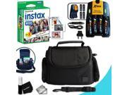 Complete ACCESSORIES KIT for Fujifilm Instax 210 WIDE includes: 20 Instax WIDE Film + 4AA Batteries (3100mAH) + AC_DC Quick Char