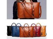 New Fashion Leather Bags Tote Handbags - Orange 9SIAEX06TW8870