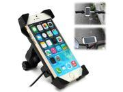 Motorcycle Bicycle Phone Stand USB Charger Power Holder Mount Bracket For 3.5~7 9SIAF737BV5351